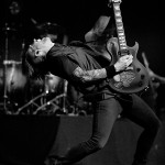 Jerry Horton from Papa Roach at the ZMF music festival in Freiburg, Germany on June 30, 2013.