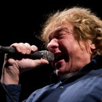 Freiburg, Germany. 2. December, 2014. Lou Gramm (Foreigner) performs live at Rothaus Arena.