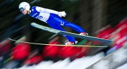 Daiki Ito of Japan competes in the Large Hill Individual competition on day one of the FIS Ski Jumping World Cup on February 7, 2015 in Titisee-Neustadt, Germany.